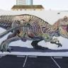 Hayvan Anatomisini Grafiti ile Birleştiren Sanatçıdan Şahane Çalışmalar