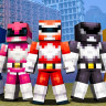 Minecraft ve Power Rangers Buluştu!