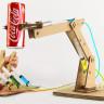 Karton ve Şırıngalar ile Yapılmış Hidrolik Sistemli Robotik Kol