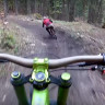 Dağdan Bisikletle İnen YouTuber'a Bir Ayının Saldırdığı An