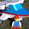 Google Uçak Mühendisi, LEGO Tasarımını Uçan Bir Uçağa Dönüştürdü!