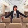 First Class'ta Ücretsiz Uçup Üzerine Bir de Para Kazanan Genç