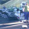 Mucizeden de Öte: Bir Kişi, Kaza Sonrası İkiye Ayrılan Bu Araçtan Sağ Çıktı!