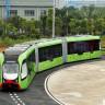 Çin'den Otobüs-Tren Hibriti Yeni Ulaşım Aracı