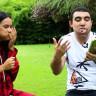 Türk YouTuber'dan Ünlü Şarkıcı Inna ile Ağza Marshmallow Tıkmalı Challenge Videosu