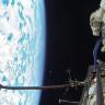 Dünya'ya Düşen Yıldırımlar, Uzaydaki Rus Kozmonot Tarafından Görüntülendi!