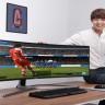 Samsung Oyuncular İçin Devasa Boyutlarda QLED Monitör Çıkarıyor
