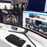 Samsung'un 49-inch Eğimli Ekranına Yakından Bakış