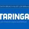 28 Milyon Taringa Kullanıcısının Hesap Bilgileri Hacklendi
