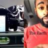 Dünya'nın Düz Olduğunu Anlatmak İçin İbretlik Bir Deney Yapan Youtuber!