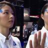 Oyun Fuarında Çekilen Bu Videoda Görünen Kadın Robot mu Yoksa İnsan mı?