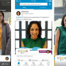 LinkedIn'de Snapchat'in Filtrelerini Getiriyor !