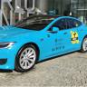 Tesla Model S 'Turkuaz Taksi' Projesiyle Türkiye'de Mesaiye Başladı!