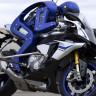 Yamaha'nın Profesyonel Motosiklet Sürücüsüyle Kapışan Humanoid Robotu