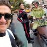 Star Wars Benzeri Motorlar Yapan Youtuberlar, New York City Caddelerini Esir Aldılar