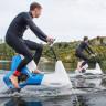 Suyun Üzerinde Sürülebilen Mühendislik Harikası Su Bisikleti