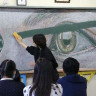 Karatahtaya Çizdikleri İllüstrasyonlarla Fenomen Olan Hong Kong'lu Öğrenciler