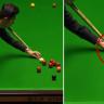 Final Maçını Kaybetmek İstemeyen Çinli Sporcu, Bilardo Tarihinin En Tuhaf Atışını Gerçekleştirdi!
