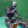 Spor Yaparken Terleyen Ultra İnsansı Robot!