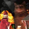 Verdiği Saykodelik Pozla Photoshop Kurbanı Olan Yeni Yıl Kedisi!