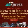 GearBest'te, BKM Express Aracılığıyla %50'ye Varan İndirimlerle Alışveriş Başladı!