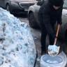 Rusya'da Yağan Mavi Kar Panik Yarattı
