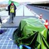 Çin'in Güneş Enerjili Yolu Hırsızlık Kurbanı Oldu!