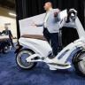 Katlanabilir Elektrikli Scooterlar'da Yenilikler!