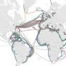 İnternete Girmemizi Sağlayan Denizaltı İnternet Kablolarını Gösteren Harita