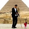 Dünyanın En Uzun Adamı Sultan Kösen, Dünyanın En Kısa Kadınıyla Buluştu