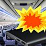 Yolcuların, Uçakta Alev Alan Powerbank'e Karşı Müthiş Soğukkanlılıkla Aldıkları Önlem