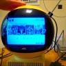 Tüm Zamanların En Garip Televizyonunda Yeni Nesil Oyunlar Çalıştırıldı