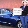 Elon Musk'ın Kardeşi Tesla Model 3'ünü Ödül Olarak Verecek