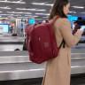 Uçak Yolculuklarında Bagaj Ücreti Ödemekten Usanan İki Yolcunun Çakalca Tasarladıkları Sırt Çantası!
