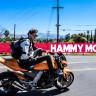 Şans Eseri Hayatta Kalan Motosikletçinin Feci Kazası