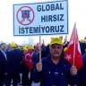 Adliyeyinin Önünde Toplanan Taksicilerden Uber'e Karşı Dev Protesto!
