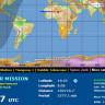 Gelecek Hafta Dünya'ya Çarpacak Olan Uydunun Yerini Eş Zamanlı Gösteren Harita