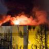 Rusya'da 64 Kişinin Yanarak Öldüğü Yangının Başlama Anına Ait Video!