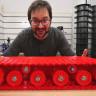 3D Yazıcı İle Tank Parçası Üreten Adam