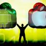 iOS İşletim Sistemi Android'den Daha Çok Benimseniyor