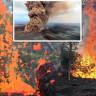 Volkanların Patladığı, Yollardan Lavların Fışkırdığı Hawaii'den Gelen Korkunç Görüntüler!