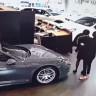 Sinirden Çılgına Dönen Bir İş İnsanı, 580 bin TL'lik Aracı ile Porsche Mağazasına Girdi! (Video)