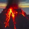 Uzaydan Fotoğraflanan Volkanik Dağ Korku Saçıyor