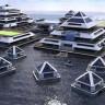 İtalya Sahillerine Kurulması Planlanan, Piramit Tasarımlı Evlerden Oluşan Yüzen Şehir (Video)