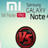 Xiaomi Mi Note Pro'nun Samsung Galaxy Note 4'den Üstün Özellikleri