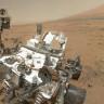 NASA'nın Ünlü Mars Aracı Curiosity, Kum Fırtınasında Çektiği Selfie'yi Gönderdi