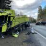 Herkesin Merak Ettiği Soru: Volvo İle Tırın Çarpıştığı Kazada, Tıra Ne Oldu?