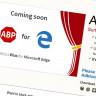 Microsoft Edge, Mobil Platformuna AdBlock Plus Eklentisini Dahil Etti