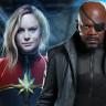 Merakla Beklenen Captain Marvel Filminden İlk Görseller Sızdırıldı