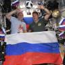 Rus Kozmonotlar, İspanya Zaferini Uzayda Kutladı (Video)